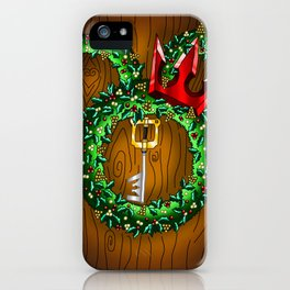 Christmas Artwork #19 (2017) iPhone Case