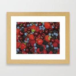 Fruits of the Forest Framed Art Print