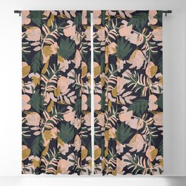 Abstract nature tropical 34 Blackout Curtain