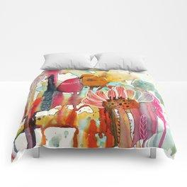 cheek to cheek Comforters