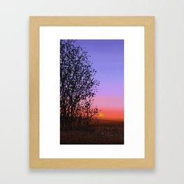 Sunset A8 Framed Art Print