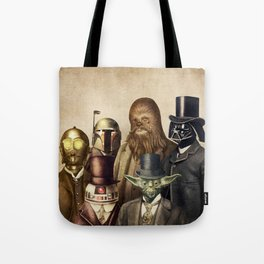 Victorian Wars (square format) Tote Bag