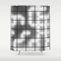 numbers Shower Curtains featuring Numbers by Sofia_Katsikadi