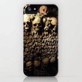 Man made a wall... iPhone Case