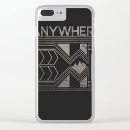 Anywhere Clear iPhone Case