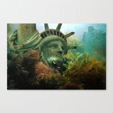 East Coast Sightseeing Canvas Print