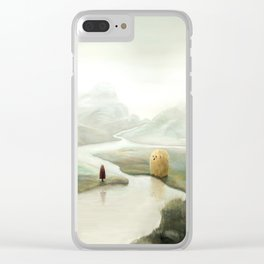 The Visitors Clear iPhone Case