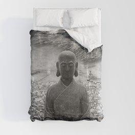 Sitting Buddha Comforters