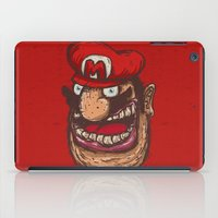super mario iPad Cases featuring Mario by Lime