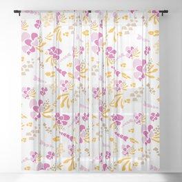 Springs Bounty Sheer Curtain