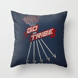 Go Tribe Throw Pillow