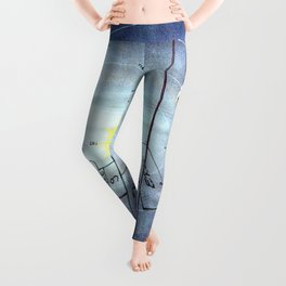 Astronaut Training/ heaven and hell Leggings