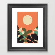 Jungle Sun #2 Framed Art Print