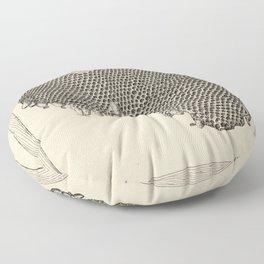Honeycomb Frame Floor Pillow