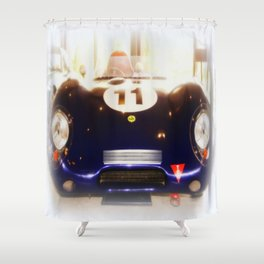 1956 Lotus Eleven Shower Curtain