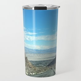Mountain Road in Palm Springs California Travel Mug