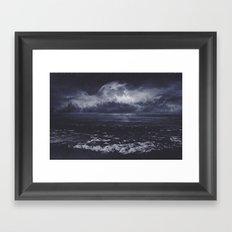 Mixed emotions Framed Art Print