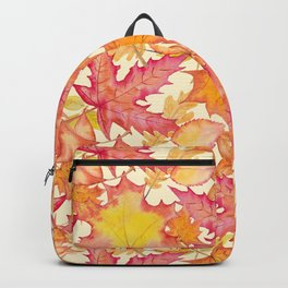 Autumn Leaf Pattern 02 Backpack