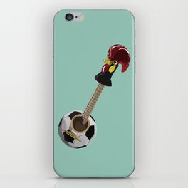 fado, soccer,and a cock from barcelos iPhone Skin