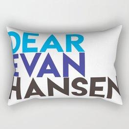 Dear Evan Hansen Rectangular Pillow