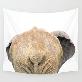 Elephant back Wall Tapestry