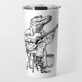Croco Blues Travel Mug