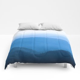 Blue Smoky Mountains Comforters