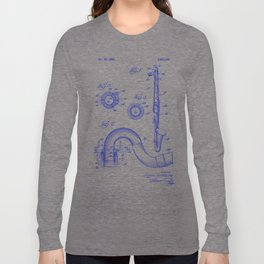 Bass Clarinet Woodwind Symphony Orchestra Long Sleeve T-shirt