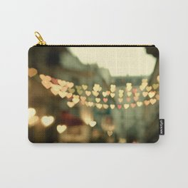 Looking for Love - Paris Hearts Carry-All Pouch