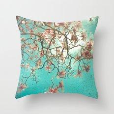 The Hanging Garden Throw Pillow