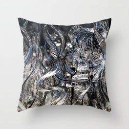 Wisps Glass Sculpture Throw Pillow