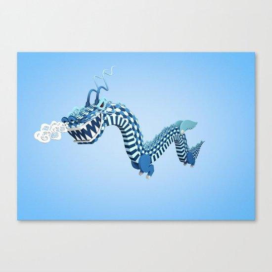 Dragon-Air Canvas Print