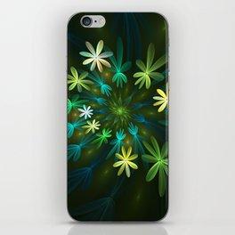 Fantasy Flowers, Fractal Art iPhone Skin