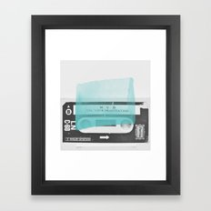 Side B Framed Art Print