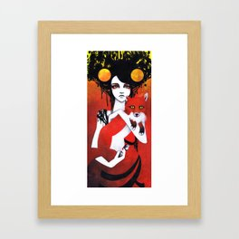 Fauna Goddess of Animals Framed Art Print