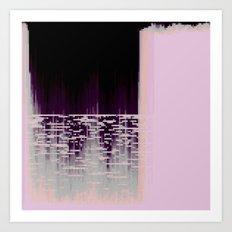 40hz: Glass Art Print