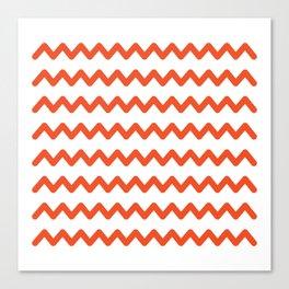 zik zak Canvas Print
