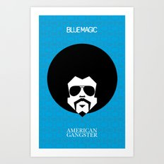 BlueMagic Art Print