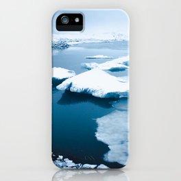 Iceland - Floating Icebergs iPhone Case