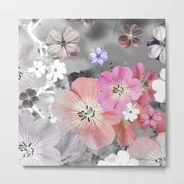 The fairy will come out soon 3 #flower #combination Metal Print