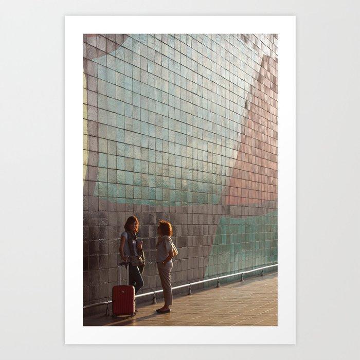 Barcelona Spain Art Print