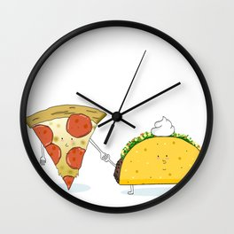Match Made in Heaven Wall Clock