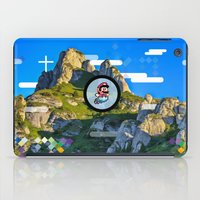 mario iPad Cases featuring Mario by Amelie Boisvert