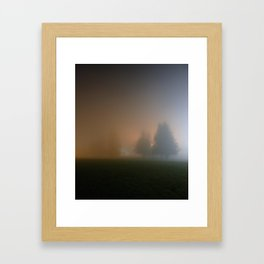 Only night Framed Art Print