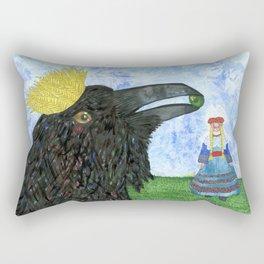 Crow King's Bride Rectangular Pillow
