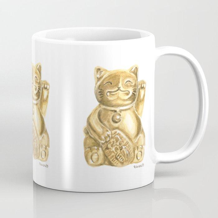 Lucky Cat Coffee Mug By Robinewers Society6