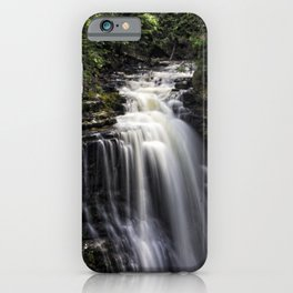 Miners Falls at Pictured Rock National Lakeshore iPhone Case