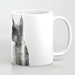 Doberman Pinscher NYC Skyline Coffee Mug