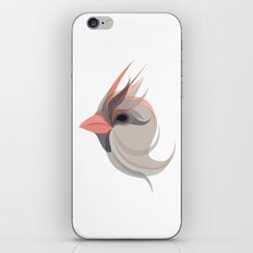 Pink in bird iPhone & iPod Skin