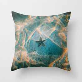 STARRY SEA Throw Pillow